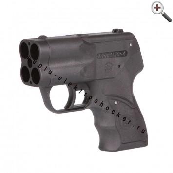 Аэрозольный газовый пистолет Премьер-4 с ЛЦУ